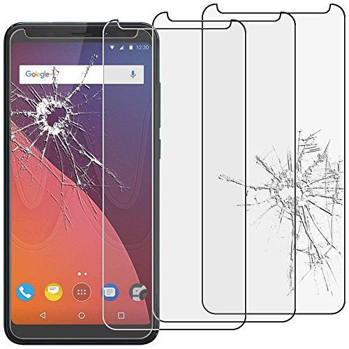 ebestStar - Wiko View Panzerglas x3 View 16GB 32GB Schutzfolie Glas, Schutzglas Bildschirmschutz, Bildschirmschutzfolie 9H gehärtes Glas [Phone: 151.5 x 73.1 x 8.7mm, 5.7'']