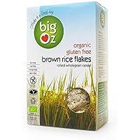 Big Oz | Organic Brown Rice Flakes | 2 x 500g