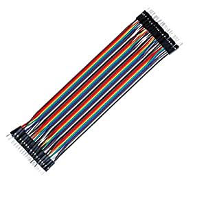 UG LAND INDIA M045 40 PCS Dupont Wire Color Jumper Cable 2.54mm 1P-1P Male to Male