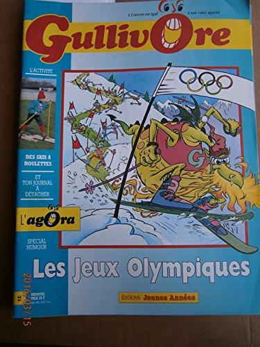 Gullivore N° 31. Les jeux olympiques, Marcel Tricot maillot jaune, nouvelle de Gérard Moncomble. . Date: Octobre 1991. par GULLIVORE N° 31