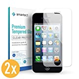 smartect iPhone 4 / 4s Panzerglas Folie [2 Stück] - Displayschutz mit 9H Härte - Blasenfreie Schutzfolie - Anti Fingerprint Panzerglasfolie