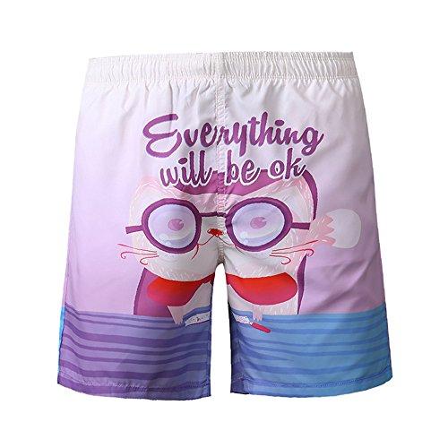 BañAdores Hombre,Naturazy Hombre Deporte Secado RáPido BañAdores Pantalones Cortos Pantalones De Nadar Pantalones De Agua para Nadar De Surf De Playa Shorts