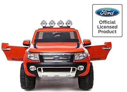 babycar-550a-auto-elettrica-jeep-suv-ford-ranger-full-optional-con-telecomando-12-volt-arancio