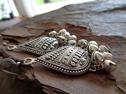 ✿ orecchini bell chandelier gypsy tribal boho ✿