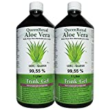 QueenRoyal Aloe Vera Trink Gel 99.55 % pur