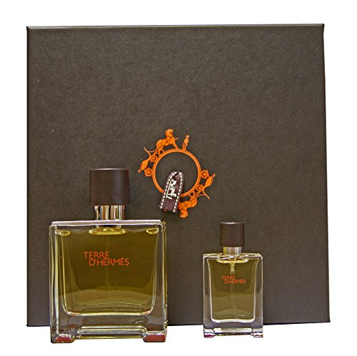 Hermes Terre d'Hermes 75 ml Parfum + 12,5 ml Parfum im Geschenkset