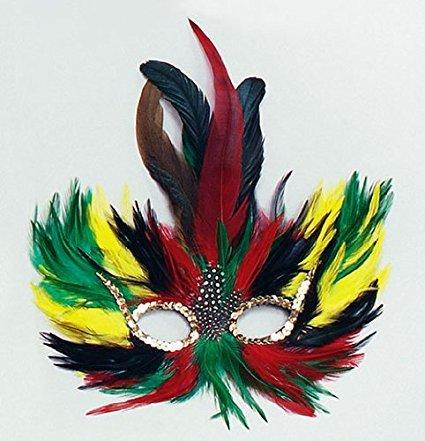 bird-multi-coloured-feather-mask