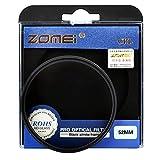 ZOMEI CIR-PL 52mm Filtre numérique CPL Polarisant circulaire pour appareil photo Canon Nikon Sony