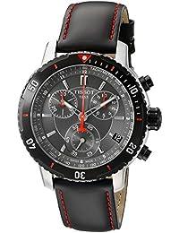 Tissot T0674172605100 Men's PRS 200 Black Chronograph Dial Watch