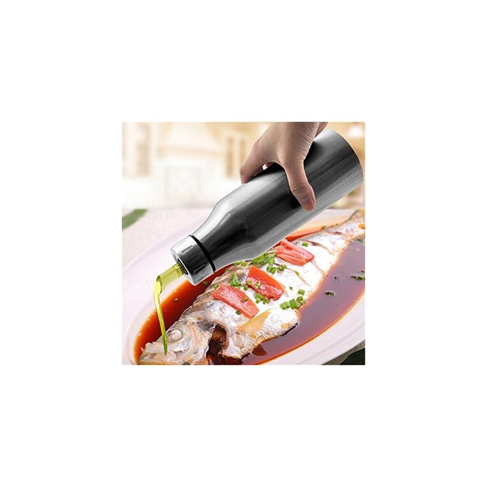 Bluelover Edelstahl Auslauf Tropfen L Flaschen Sauce Essig Kitchen Tools