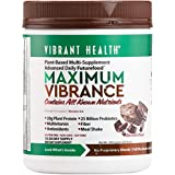 Vibrant Health Maximum Vibrance Chocolate, 724.5g, 15-30 days supply