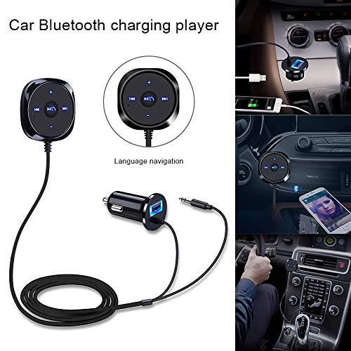 Wodeni Bluetooth Handsfree Car Audio Music Receiver Adaptador USB Charger Car Bluetooth AUX Universal