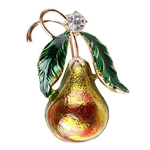 (Weihnachts Kürbis Broschen Kristall für Kinder Mädchen Weihnachten Geschenk)