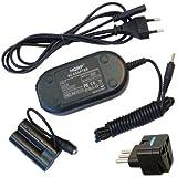 HQRP AC Adaptateur Secteur / Chargeur pour Canon DR-DC10 ACK-800 PowerShot A1300 A1400 SX150IS SX160IS A800 A810 Appareil Photo Numerique