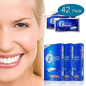 3D Zahnweiß Streifen 84 Streifen Zahnschmelz Sichere Zahnbehandlung Keine Sensitivität Schmelz Sichere Zero Peroxid Zahnbleichbehandlung für Crystal Smile Mint