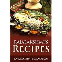 Rajalakshmi's Recipes (English Edition)