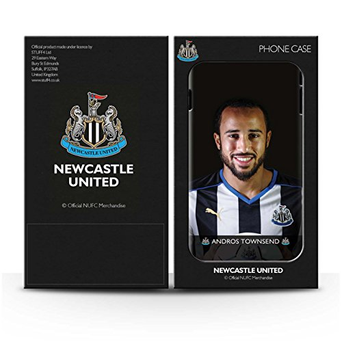 Officiel Newcastle United FC Coque / Etui pour Apple iPhone 5/5S / Pack 25pcs Design / NUFC Joueur Football 15/16 Collection Townsend