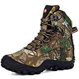 XPETI Scarpe da Trekking Uomo Estive, Trail Impermeabili Mid Alpinismo Hiking Calzature Estate Escursionismo Tecnica Montagna Basse Walking Outdoor Camouflage 45