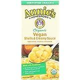 Annie's - vegana orgánica cáscaras y salsa cremosa - 6 oz.