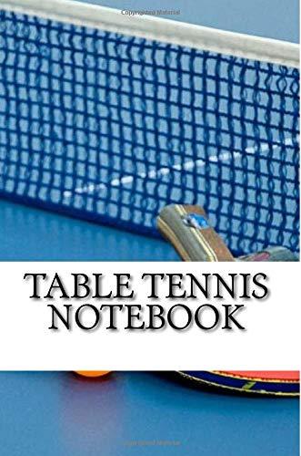 Table Tennis Notebook por mr. nick walsh