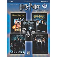 Selections from Harry Potter Instrumental Solos Movies 1-5: Flute, Level 2-3