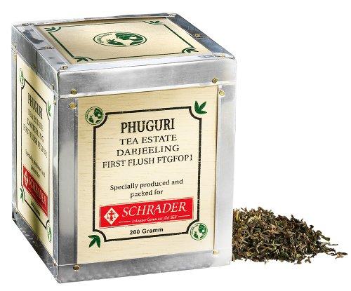 Schwarzer Tee Darjeeling First Flush Phuguri FTGFOP1 Bio