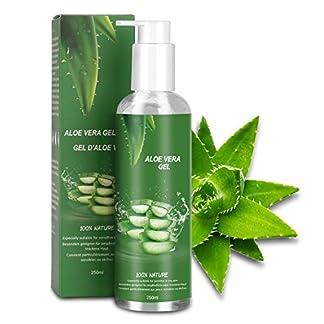 Betope Gel de Aloe Vera Pura, Aloe Vera 100 Puro Natural, Gel Hidratante Corporal y Facial, Cuidado After Sun/Calmar Después de la Depilación 250ml
