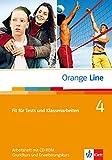 Orange Line / Fit für Tests und Klassenarbeiten Teil 4 (4. Lehrjahr) - Grundkurs und Erweiterungskurs: Arbeitsheft mit CD-ROM