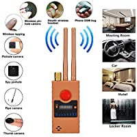 Camera Lens Detector,GPS GSM RF Signal Detector, Find Camera Lens,and GSM Listening Device… (Yellow)