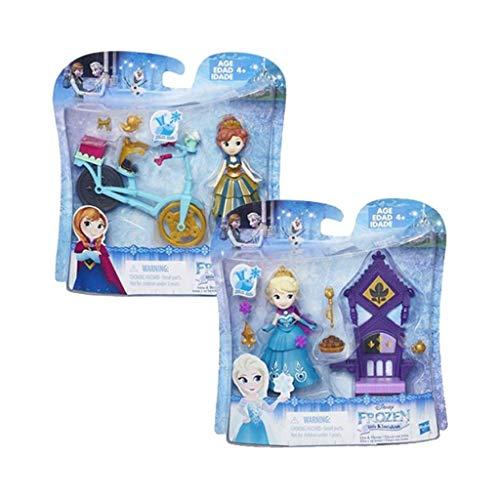 Hasbro- frozen small doll con accessori 311, multicolore, 5010994945534