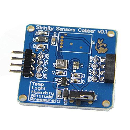 Bluelover 4-En-1 Temperatura + Presión + Altitud + Módulo De Sensor De Luz Para Rpi/Arduino (precio: 22,89€)