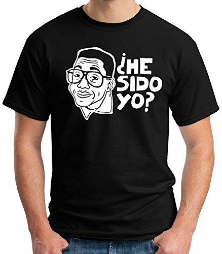 35mm - Camiseta Niño - Steve Urkel - He Sido Yo ? - T-Shirt, NEGRA, 7/8 años