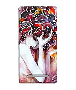 Fuson Designer Back Case Cover for Sony Xperia C3 Dual :: Sony Xperia C3 Dual D2502 (design art rangoli artwork)