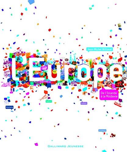 L'Europe: De l'Islande à la Moldavie par Jean-Michel Billioud