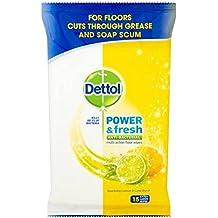 Dettol toallitas de limpieza de suelos limón 15 ...