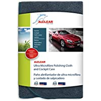 ALCLEAR A257343 Ultra Microfibre Polishing Cloth and Cockpit Care, 40 x 40 cm, Anthracite preiswert