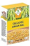 #5: Real Life ORGANIC Arhar Dal, 500 Grams