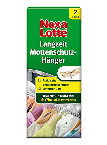 Nexa Lotte Langzeit Mottenschutz Hänger 1 Stück Gegen Kleidermotten in Innenräumen