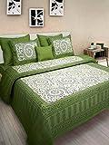 Best Bedspreads - Jaipuri Bedspreads Cotton Double Jaipuri Bedsheet-Queen ,Multicolor Review