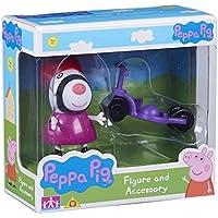 Peppa Pig Figura e accessori Zoe Zebra & Bike Set - Aula Garden Set