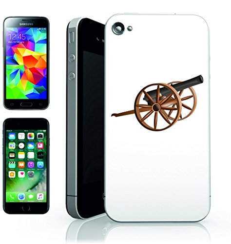Smartphone Case cannone Antico Esercito della Guerra Antica Lotta per Apple Iphone 4/4S, 5/5S, 5C, 6/6S, 7& Samsung Galaxy S4, S5, S6, S6Edge, S7, S7Edge Huawei HTC–Divertimento Motiv di culto
