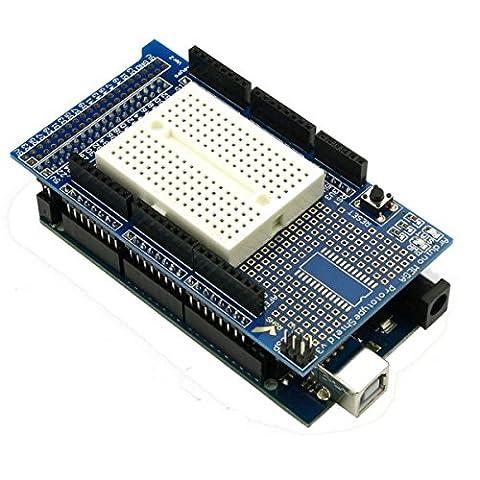 Kit Proto Shield V3 + Mega2560 R3 ATmega2560-16AU Pour Arduino