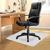 Cartkningts Bodenschutzmatten für Hartböden Bürostuhlmatte Bürostuhlunterlage 75cm x 120cm in 6 Größen zur Wahl