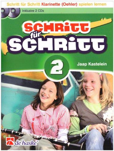 Schritt für Schritt, für Klarinette (Oehler), m. 2 Audio-CDs