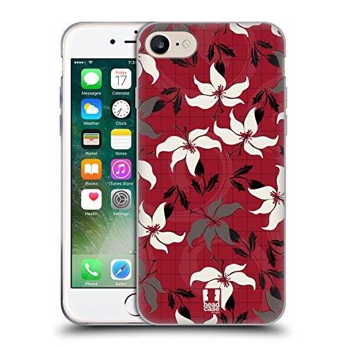Head Case Designs Barattolo Di Sogni Barattoli Cover Morbida In Gel Per Apple iPhone 7 / iPhone 8 Giglio