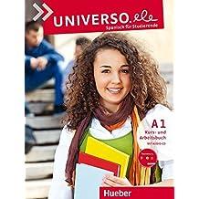 Universo.ele A1: Spanisch für Studierende / Kursbuch + Arbeitsbuch + 1 Audio-CD