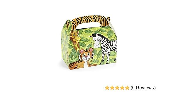 Safari Lesezeichen mit 6 verschiedenen Motiven 12 Stück Dschungelparty Mitgebsel