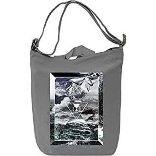 Water Waves And Nature Beauty Leinwand Tagestasche Canvas Day Bag| 100% Premium Cotton Canvas| DTG Printing|