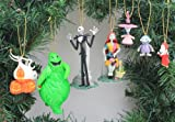 Disney s the Nightmare Before Christmas 7 Piece Ornament set – (7) PVC Ornaments included – Disponibilità limitata