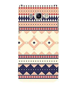 Fiobs Designer Back Case Cover for Samsung Galaxy J7 (6) 2016 :: Samsung Galaxy J7 2016 Duos :: Samsung Galaxy J7 2016 J710F J710Fn J710M J710H (Multicolor Flow Multipattern )